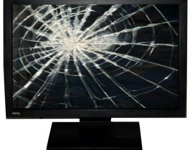 Ремонт мониторов с разбитым экраном